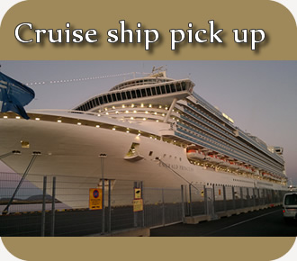 Cruise ship pick up